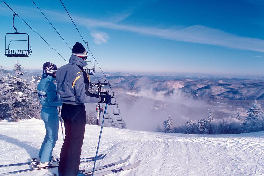 Killington Ski Area in Sherburne, VT.