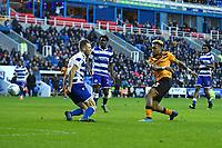 Martin Samuelsen of Hull City right scores to make the score 1-1  during Reading vs Hull City, Sky Bet EFL Championship Football at the Madejski Stadium on 8th February 2020