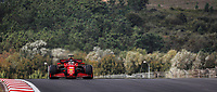 16 LECLERC Charles (mco), Scuderia Ferrari SF21, action during the Formula 1 Rolex Turkish Grand Prix 2021, 16th round of the 2021 FIA Formula One World Championship from October 8 to 10, 2021 on the Istanbul Park, in Tuzla, Turkey -<br /> Formula 1 Turkish GP 08/10/2021<br /> Photo DPPI/Panoramic/Insidefoto <br /> ITALY ONLY