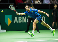Rotterdam, The Netherlands, February 12, 2016,  ABNAMROWTT, Marin Cilic (CRO)<br /> Photo: Tennisimages/Henk Koster
