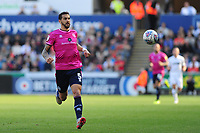 Geoff Cameron of Queens Park Rangers in action during the Sky Bet Championship match between Swansea City and Queens Park Rangers at the Liberty Stadium in Swansea, Wales. Saturday 29 September 2018