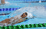 Glasgow 2014 Commonwealth Games<br /> Xavier Mohammed (Wales) swimming in the Men's 200m Backstroke.<br /> <br /> <br /> 28.07.14<br /> ©Steve Pope-SPORTINGWALES