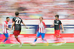 Antoine Griezmann (C)  of Atletico de Madrid in action during their La Liga match between Atletico de Madrid vs Athletic de Bilbao at the Estadio Vicente Calderon on 21 May 2017 in Madrid, Spain. Photo by Diego Gonzalez Souto / Power Sport Images