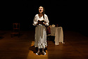 """Edinburgh, UK. 16.11.2019. """"The Remarkable Deliverances of Alice Thornton"""", written and performed by Debbie Cannon, based on research by Dr Cordelia Beattie, is performed as part of the Being Human Festival 2019, at the Scottish Storytelling Centre. Directed by Flavia D'Avila, with dramaturgy by Jen McGregor. Picture shows: Debbie Cannon (as Alice Thornton). Photograph © Jane Hobson."""