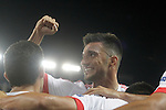 SL Benfica's Andreas Samaris celebrates goal during Champions League 2015/2016 match. September 30,2015. (ALTERPHOTOS/Acero)