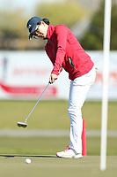 Mary Chen. Jennian Homes Charles Tour, Pegasus Open, Christchurch, New Zealand, Friday 4 October 2019. Photo Martin Hunter/www.bwmedia.co.nz