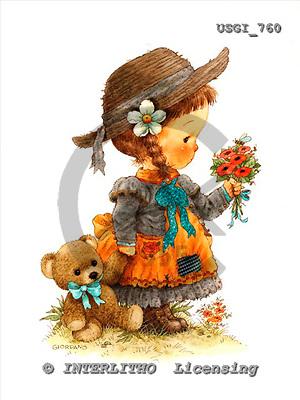 GIORDANO, CHILDREN, KINDER, NIÑOS, paintings+++++,USGI760,#K# ,everyday