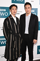 "LONDON, UK. September 25, 2019: Yosuke Kubozuka & Takehiro Hira at the"" GIRI/HAJI"" screening at the Curzon Bloomsbury, London.<br /> Picture: Steve Vas/Featureflash"