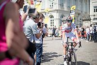 Jasper Philipsen (BEL/UAE - Emirates) at the start in Brussels<br /> <br /> Stage 1: Brussels to Brussels(BEL/192km) 106th Tour de France 2019 (2.UWT)<br /> <br /> ©kramon