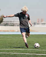 Assistant Coach Paul Caffrey training. 2009 CONCACAF Under-17 Championship From April 21-May 2 in Tijuana, Mexico