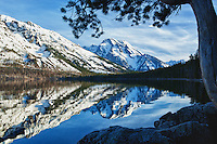Jenny Lake reflections, Grand Tetons National Park