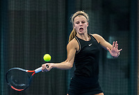 Amstelveen, Netherlands, 14  December, 2020, National Tennis Center, NTC, NK Indoor, National  Indoor Tennis Championships, Qualifying:  Marente Sijbesma (NED)<br /> Photo: Henk Koster/tennisimages.com