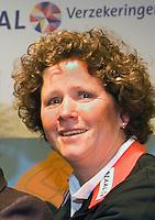 10-1-08,  Apeldoorn, KNLTB, Contractondertekening KNLTB met nieuwe hoofdsponsor Reaal verzekeringen, Mannon Bollegraf