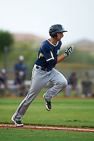 Milwaukee Brewers Milan Post (64) during an instructional league game against the San Diego Padres on October 6, 2015 at the Peoria Sports Complex in Peoria, Arizona.  (Mike Janes/Four Seam Images)
