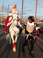 Sinterklaas  en Zwarte Piet  in Amsterdam