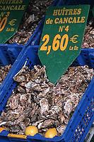 Europe/France/Bretagne/35/Ille-et-Vilaine/Cancale: Huitres de Cancale