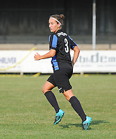 20160827 - AALTER , BELGIUM : Brugge's Ellen Martens pictured during the soccer match  in the 2nd round of the  Belgian cup 2017 , a soccer women game between Club Brugge and Football Club Bercheux   ,  Aalter , saturday 27 th August 2016 . PHOTO SPORTPIX.BE / DIRK VUYLSTEKE