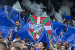 Supporters of Club Deportivo Alaves during the match of  Copa del Rey (King's Cup) Final between Deportivo Alaves and FC Barcelona at Vicente Calderon Stadium in Madrid, May 27, 2017. Spain.. (ALTERPHOTOS/Rodrigo Jimenez)