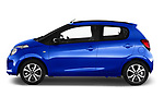 Car driver side profile view of a 2018 Citroen C1 Airscape Shine 5 Door Hatchback