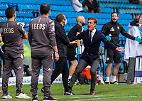 Fulham manager Scott Parker appeals for a handball<br /> <br /> Photographer Alex Dodd/CameraSport<br /> <br /> The EFL Sky Bet Championship - Leeds United v Fulham - Wednesday 24th June 2020 - Elland Road - Leeds<br /> <br /> World Copyright © 2020 CameraSport. All rights reserved. 43 Linden Ave. Countesthorpe. Leicester. England. LE8 5PG - Tel: +44 (0) 116 277 4147 - admin@camerasport.com - www.camerasport.com<br /> <br /> Photographer Alex Dodd/CameraSport<br /> <br /> The Premier League - Newcastle United v Aston Villa - Wednesday 24th June 2020 - St James' Park - Newcastle <br /> <br /> World Copyright © 2020 CameraSport. All rights reserved. 43 Linden Ave. Countesthorpe. Leicester. England. LE8 5PG - Tel: +44 (0) 116 277 4147 - admin@camerasport.com - www.camerasport.com