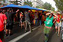 Independents in the streets of Barcelona.<br /> The Catalan separatists will seek to show strength and unity in the celebrations of the national day of the region, almost a year after a failed attempt to separate from Spain.