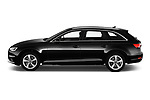 Car driver side profile view of a 2019 Audi A4-Avant Design 5 Door Wagon