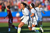 Frisco, TX. - February 13, 2016: The U.S. Women's National team defeat Mexico 1-0 in CONCACAF Women's Olympic Qualifying at Toyota Stadium.