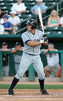 Jeff Clement / Tacoma Rainiers..Photo by:  Bill Mitchell/Four Seam Images