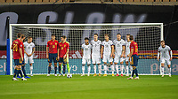 17th November 2020;  Estadio La Cartuja de Sevilla, Seville, Spain; UEFA Nations League Football, Spain versus Germany;  Sergio RamSpain,  takes a free kick