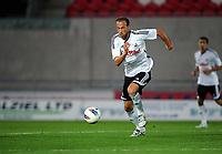 Pictured: Vangelis Moras<br /> Re: Swansea City FC reserves v Newcastle at Parc Y Scarlets, Llanelli, Carmarthenshire