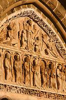 Europe/France/Limousin/19/Corrèze/Collonges-la-Rouge: Tympan de l'église