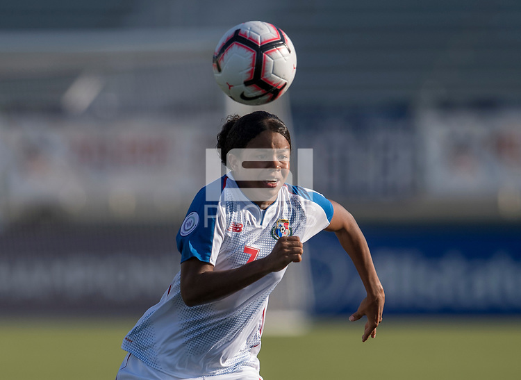 Cary, NC - October 4, 2018:  Panama defeated Trinidad & Tobago 3-0 during the group stage of the 2018 CONCACAF Women's Championship at WakeMed Soccer Park.