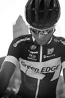 Dwars door Vlaanderen 2012.Jens Keukeleire at the start