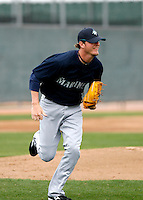 Mark Lowe  -  Seattle Mariners - 2009 spring training.Photo by:  Bill Mitchell/Four Seam Images