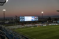SAN JOSE, CA - OCTOBER 18: Earthquakes Stadium before a game between Seattle Sounders FC and San Jose Earthquakes at Earthquakes Stadium on October 18, 2020 in San Jose, California.