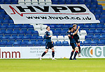 Ross County v St Johnstone…02.01.21   Global Energy Stadium     SPFL<br />Ross Draper celebrates putting Ross County ahead<br />Picture by Graeme Hart.<br />Copyright Perthshire Picture Agency<br />Tel: 01738 623350  Mobile: 07990 594431