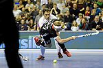 Berlin, Germany, February 10: During the FIH Indoor Hockey World Cup semi-final match between Germany (black) and Iran (white) on February 10, 2018 at Max-Schmeling-Halle in Berlin, Germany. Final score 6-2. (Photo by Dirk Markgraf / www.265-images.com) *** Local caption *** Christopher RUEHR #17 of Germany