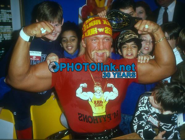 Hulk Hogan, 1990 Photo By John Barrett/PHOTOlink