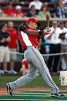 Lonnie Chisenhall ---  At the annual California League-Carolina League all-star game at the Diamond in Lake Elsinore, CA - 06/23/2009. The game was won by the California League, 2-1, on a walk-off homerun by Lancaster's Jon Gaston..Photo by:  Bill Mitchell/Four Seam Images..Chisenhall was the winner of the Home Run Derby.