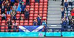 22.06.2021 Croatia v Scotland: Scotland fans dejected
