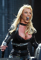 Britney Spears Britney Spears in performance at the RDS, Dublin. 6/6/2004 Photo: Gareth Chaney Collins