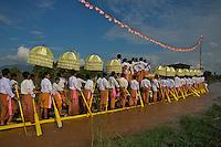 Phaung Daw Oo Pagoda festival, Inle Lake Festival - Inle Lake, Shan State, Myanmar