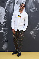 "Reggie Yates<br /> arriving for the premiere of ""Yardie"" at the BFI South Bank, London<br /> <br /> ©Ash Knotek  D3422  21/08/2018"