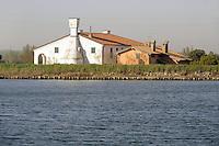 - Pila, comune Porto Tolle, nel delta del fiume Po in provincia di Rovigo, azienda agro-ittica....- Pila, municipality of Porto Tolle, delta of river Po in the province of Rovigo, agro-fish farm