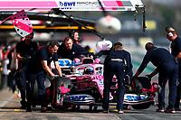 #18 Lance Stroll, Racing Point F1 Team, Mercedes. Formula 1 World championship 2020, Winter testing days #1 2020 Barcelona, 21-02-2020<br /> Photo Federico Basile / Insidefoto