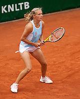 12-8-09, Den Bosch,Nationale Tennis Kampioenschappen, 1e ronde,  Olga Kalyuznhaya