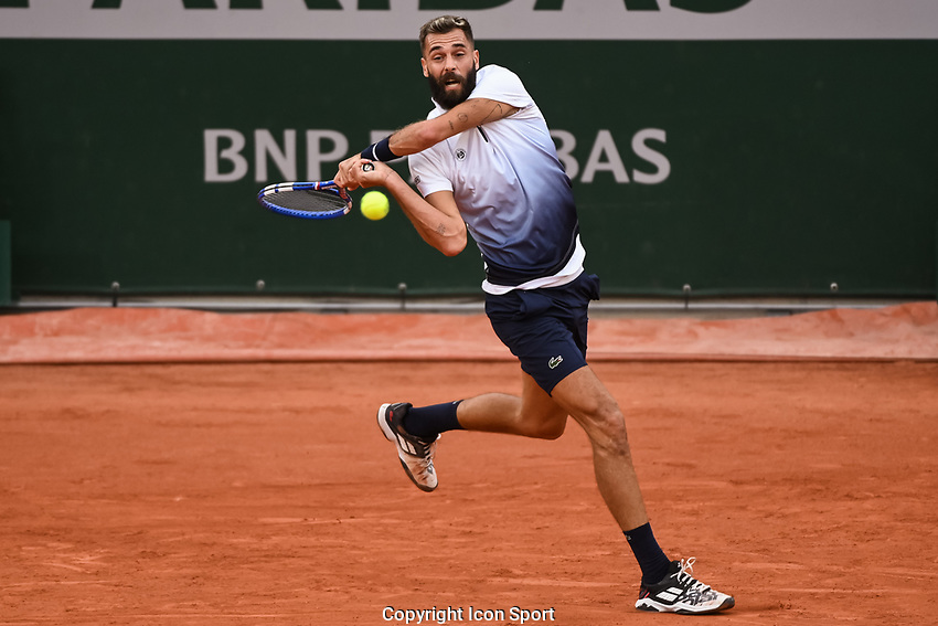 Benoit PAIRE of France during the day four of the Tennis French Open on September 30, 2020 in Paris, France. (Photo by Baptiste Fernandez/Icon Sport) - Benoit PAIRE - Roland Garros - Paris (France)