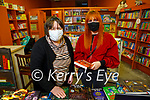 Brenda Woulfe helping Miriam Slimming choosing a book in Woulfe's Bookshop Listowel on Tuesday.