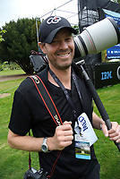 BW Media photographer Simon Watts on day four of the 2017 Asia-Pacific Amateur Golf Championship at Royal Wellington Golf Club in Wellington, New Zealand on Sunday, 29 October 2017. Photo: Dave Lintott / lintottphoto.co.nz
