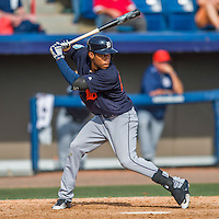 5 March 2016: Detroit Tigers outfielder Jose Azocar in action during a Spring Training pre-season game against the Washington Nationals at Space Coast Stadium in Viera, Florida. The Tigers fell to the Nationals 8-4 in Grapefruit League play. Mandatory Credit: Ed Wolfstein Photo *** RAW (NEF) Image File Available ***